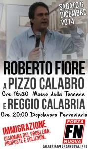Il Segretario nazionale di Forza Nuova farà tappa in Calabria