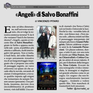 "Dopo Soverato, prosegue il tour dell film ""Angeli"" di Bonaffini"