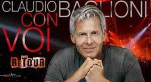 Claudio Baglioni in concerto il 9 dicembre a Catanzaro