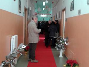 Festa di Natale con gli ospiti della Rsa del Complesso Monumentale di Girifalco
