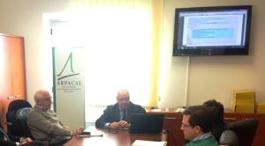 Arpacal: Visita del direttore scientifico di Arpa Friuli Venezia Giulia