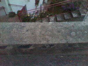 Epigrafe eversiva a Soverato