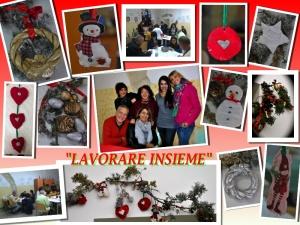 """Concluso il progetto """"Natale Insieme"""" lavori natalizi realizzati dai pazienti del centro di salute mentale di Soverato"""