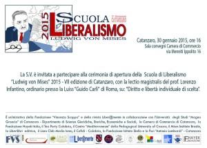 """Catanzaro – Lectio magistralis """"Diritto e libertà individuale di scelta"""""""