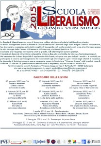 Catanzaro – Il 22 gennaio la presentazione della Scuola di Liberalismo 2015