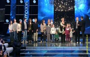 Catanzaro, la famiglia più numerosa d'Italia sul palco di Sanremo