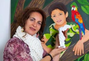 Premio Art Paris 2015 alla pittrice Angela Loprete