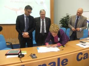 Protocollo d'intesa tra F.I.G.C. Calabria, Ufficio Scolastico Regionale Calabria e Comitato Unicef Catanzaro