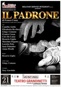 """Lamezia Terme – In scena la commedia """"Il padrone"""" tratto da L'Avaro di Molière"""