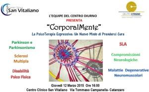 """Catanzaro – Al Centro Clinico San Vitaliano un """"atelier"""" di Psico Terapia Espressiva Corporea"""