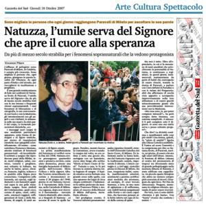 Natuzza Evolo di Paravati fa record di ascolti su Retequattro