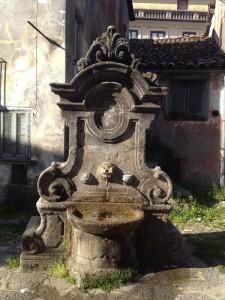 Recupero e riqualificazione delle fontane storiche nel Parco delle Serre
