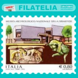 Sibari, la filatelia italiana annovera il Museo archeologico