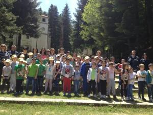 Le scolaresche in visita guidata al Parco delle Serre