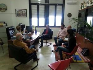 Girifalco – Incontro tra Pietrantonio Cristofaro e il dirigente scolastico dell'Istituto Majorana