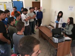 Studenti Spagnoli in visita al Dipartimento Arpacal di Vibo Valentia
