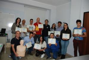 Consegnati 11 brevetti ai nuovi Operatori di Primo Soccorso BLS-D