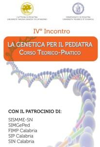 """""""La genetica per il pediatra"""", al via il IV incontro del corso teorico-pratico"""