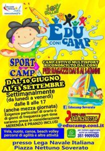 Educamp, il Camp del CONI apre a Soverato