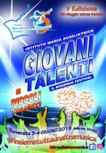 """Soverato, al via il festival """"Giovani Talenti"""" tra canto, danza, ospiti e sorprese"""